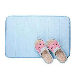 Protišmyková kúpeľňová predložka - modrá PD_1536571