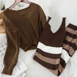 Ženski komplet - džemper i haljina KJ8