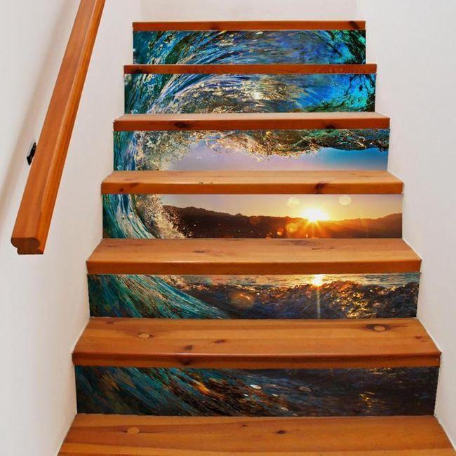 Samolepka na schodiště 1