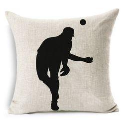 Poszewka na poduszkę z motywem baseballowym