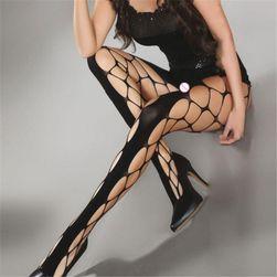 Dámské punčochové kalhoty s odhaleným klínem Silvianne