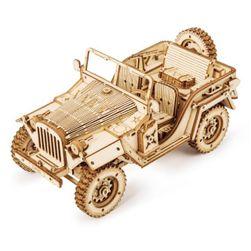 Деревянный конструктор - машинка KS136