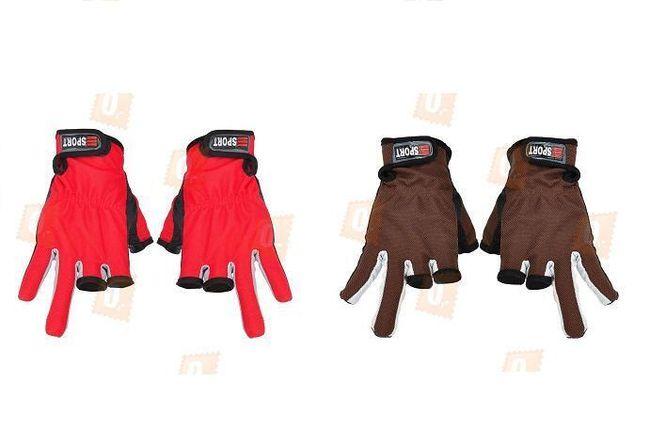 Rybářské rukavice - na výběr ze 2 provedení 1