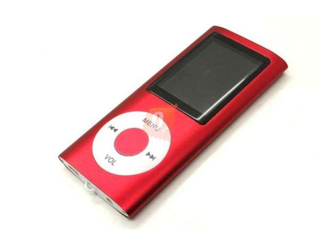 Přenosný MP4 přehrávač, paměť 4GB - 3 barvy 1