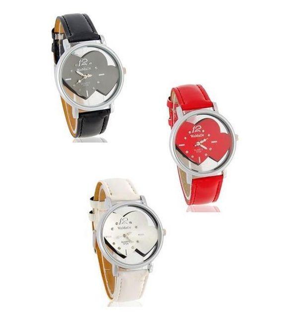 Dámské hodinky s motivem srdce - na výběr ze 3 barev 1