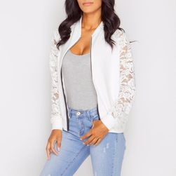 Ženska letnja jakna sa čipkastim rukavima - 2 boje