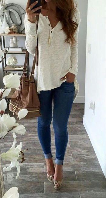 Elegantní delší tričko  1