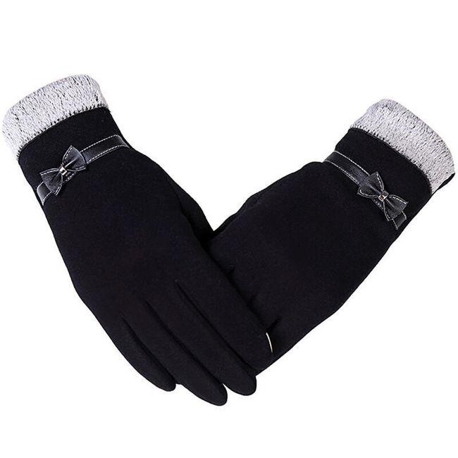 Mănuși de damă pentru ecran tactil - 4 culori 1