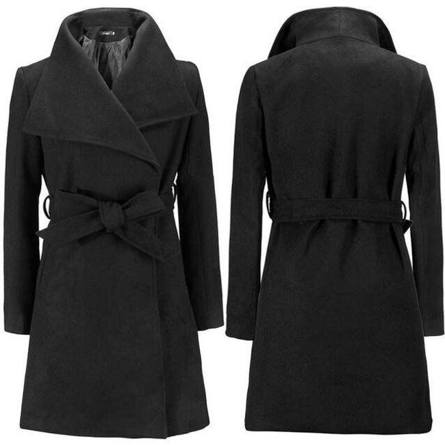 Dámský zimní kabát Lauren - Černá-XS 1