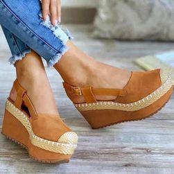 Ženske sandale na platformu T283