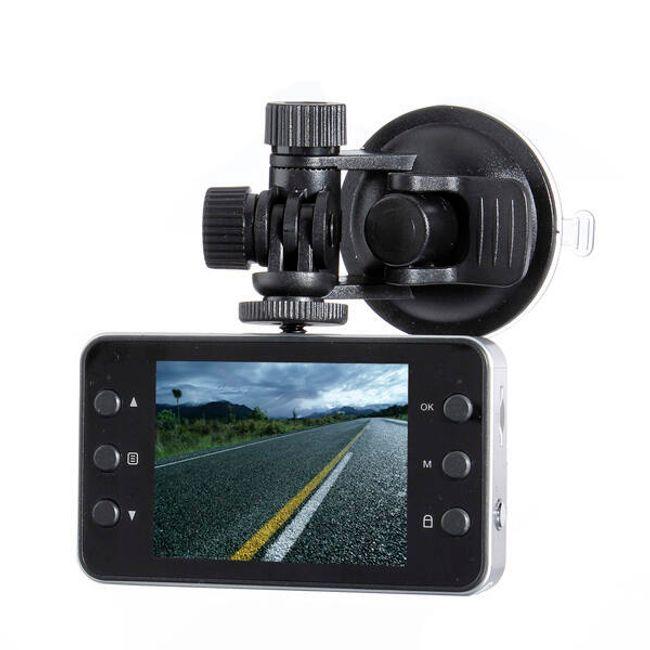 Záznamová onboard kamera do auta ve tvaru fotoaparátu - full HD rozlišení 1080P 1