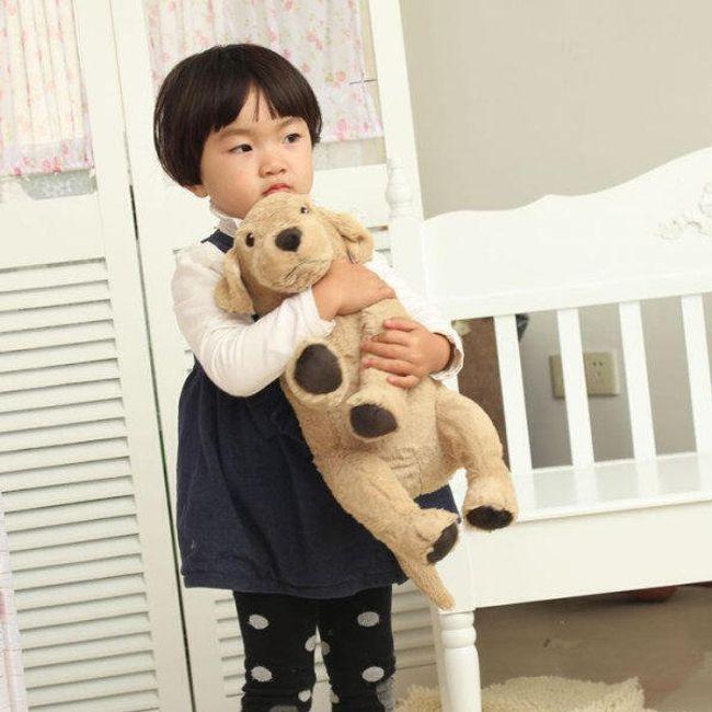 Мягкая игрушка, Щенок золотого ретривера- 50 см. 1