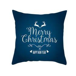 Față de pernă cu motive de Crăciun PP45