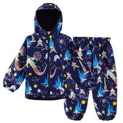 Termo jakna i kišne pantalone Lusy