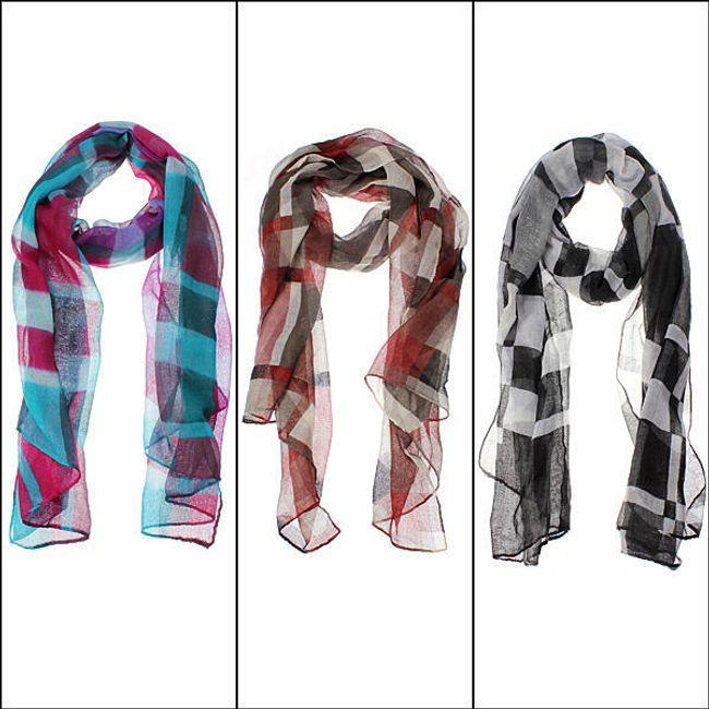 Barevný šátek pro dámy 1