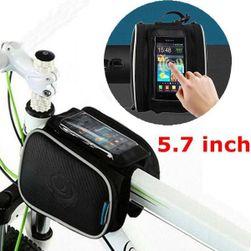 Torba rowerowa na ramę rowerową z kieszenią na telefony