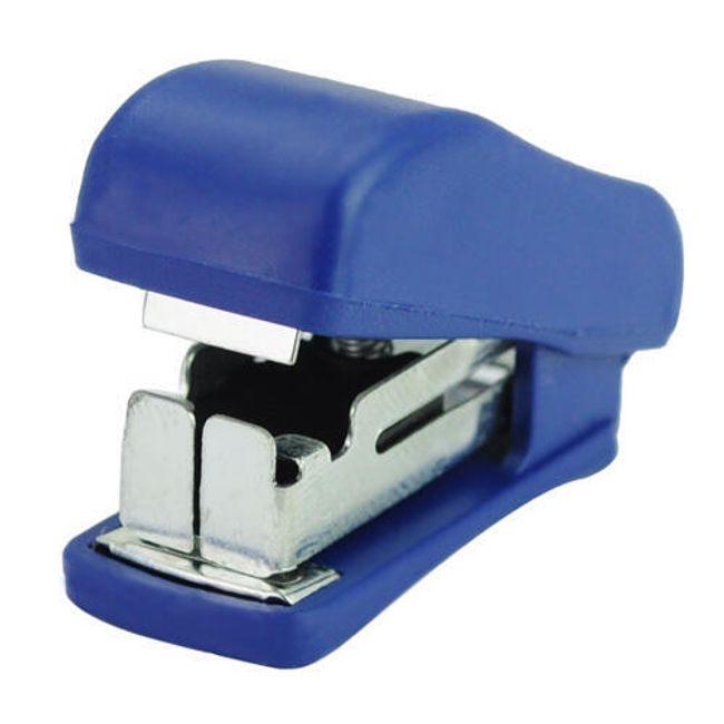 Miniaturní kapesní sešívačka + 1000 kusů sponek 1