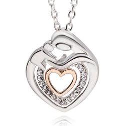 Ogrlica za mame sa srcem