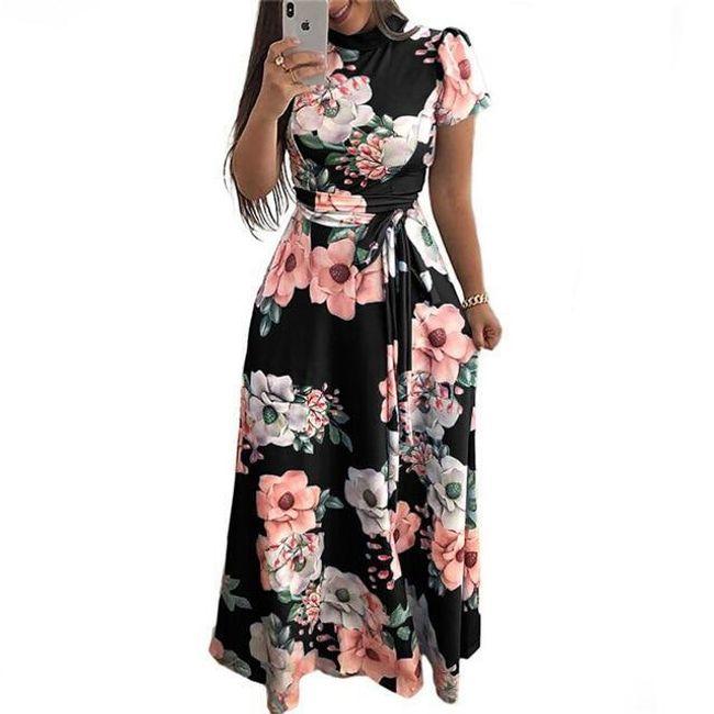 Длинное женское платье Sally 1