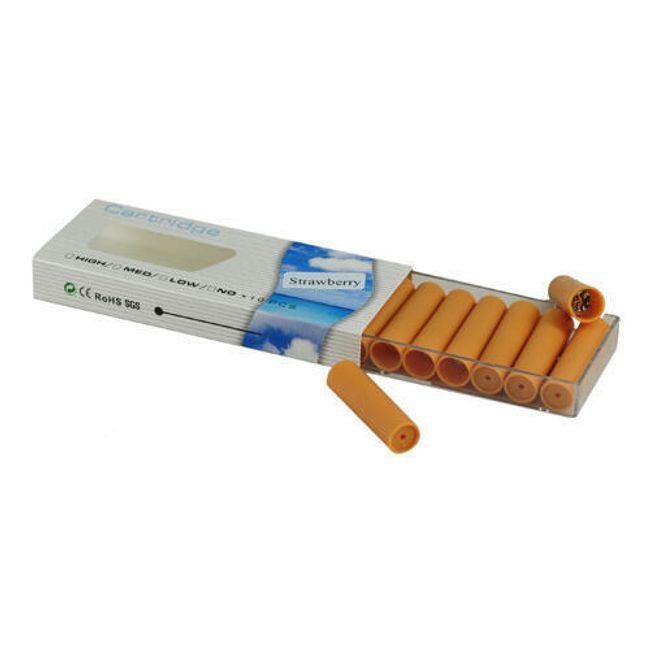 Balení 10 cartridgí do e-cigarety - Vanilka, vysoký obsah nikotinu 1