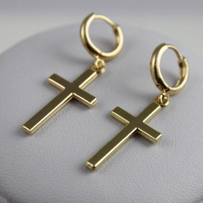 Ženski uhani - križi 1