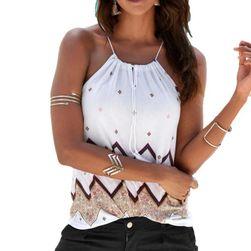 Ženska majica bez rukava - 2 boje, 5 veličina