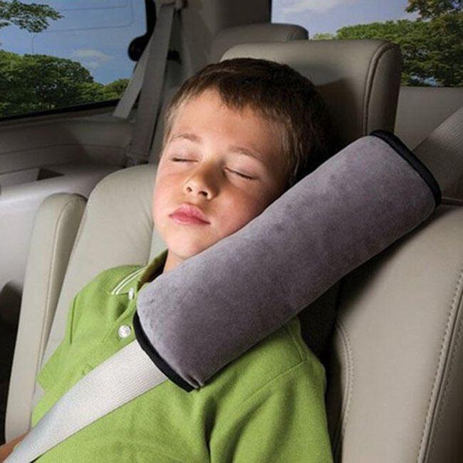 Podróżna poduszka  na pas bezpieczeństwa  1