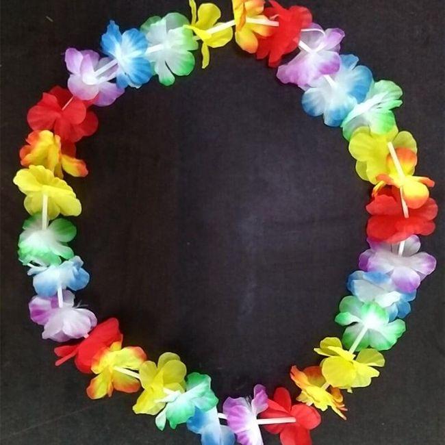 Dekoracje Hawai 1
