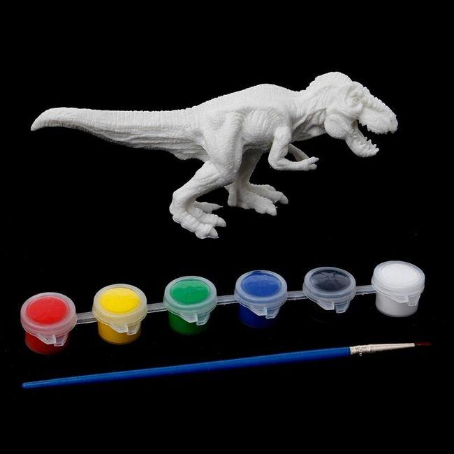 DIY model dinosaurusa za bojenje 1