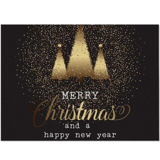 Bożonarodzeniowe nakrycie stołu Fr45 1