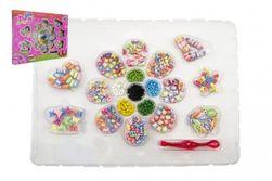 Kreatywny zestaw plastikowych koralików w pudełku 32x23x3cm RM_00850216
