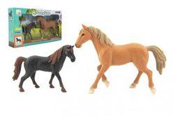 Kôň / Kone 2ks plast v krabici 36x20x6cm RM_00850388