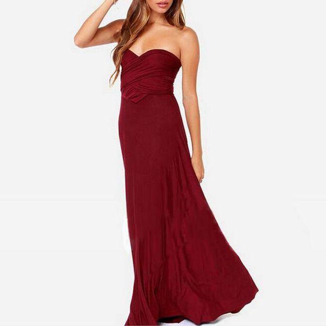 Dugačka multifunkcionalna haljina  1
