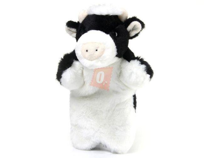 Plyšový maňásek - kravička 25cm 1