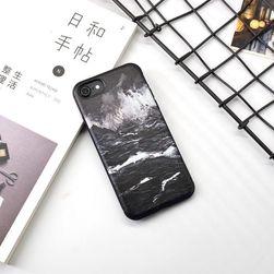Černobílý kryt na telefon - iPhone 6, 6s, 6 Plus, 6s Plus, 7, 7 plus