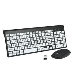 Комплект за компютър - безжична клавиатура с мишка E39