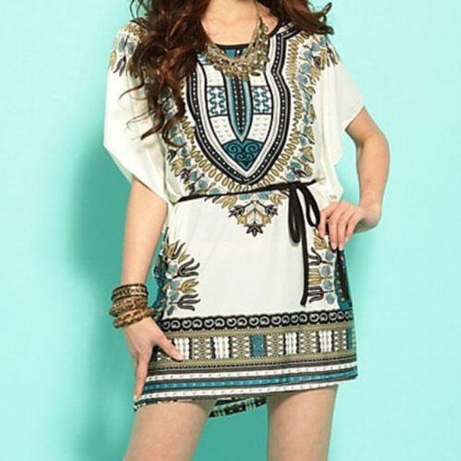 Dámské etno šaty 1
