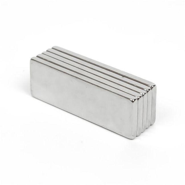 Super snažni neodijumski magnet u obliku kvadrata - 10 komada 1