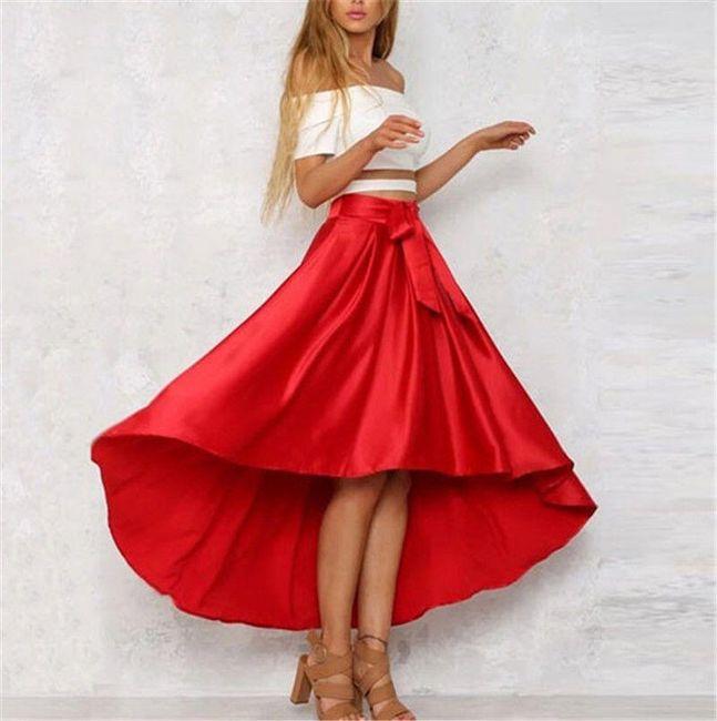 Dlouhá sukně pro dámy - Černá-velikost č. 5 1