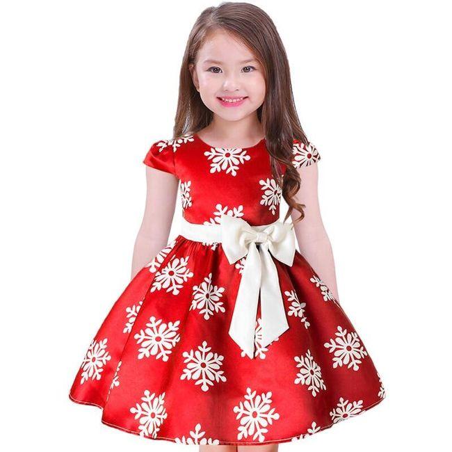 Dziewczęca sukienka Rosena 1