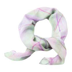 Hedvábný šátek ručně malovaný Pastelové vlání