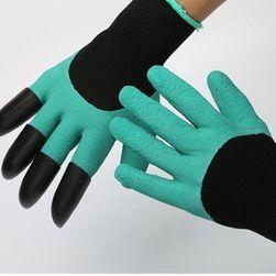 Zahradnické rukavice s drápy