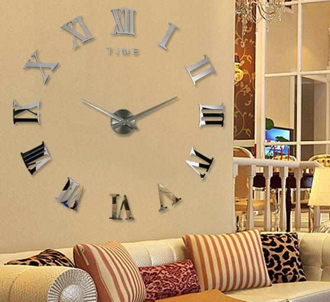 Duvar büyük ayna saati 1
