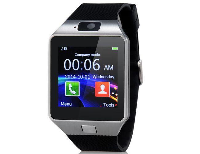 Chytré hodinky s Bluetooth - černé 1