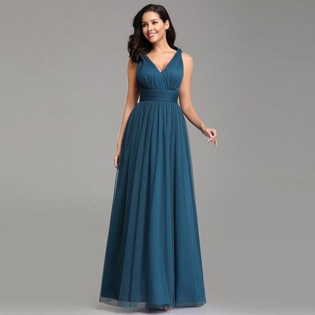 Damska sukienka wizytowa Safira 1