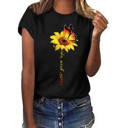 Damska koszulka z krótkim rękawem Valey