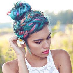 Цветной воск для волос UKN15