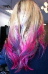Křídy na vlasy - 7 odstínů