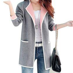Елегантна дамска жилетка - 3 цвята / 6 размера