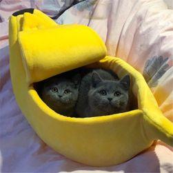 Culcuș petru animale de companie Banana